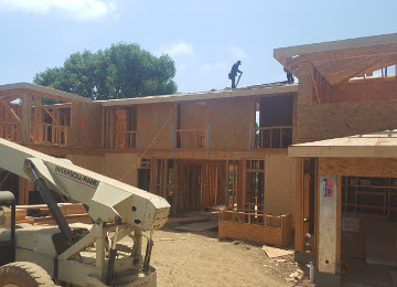 Custom Home Framing Project Brentwood, Los Angeles