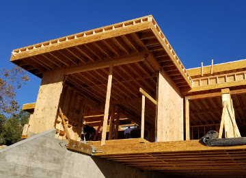 Custom Home Framing Project Los Feliz, Los Angeles