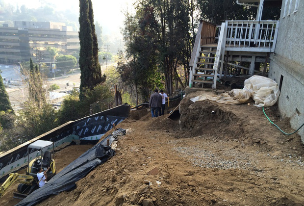 Hillside Cnstruction Contractor in Los Angeles
